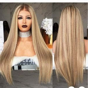Lace front  blond wig